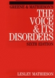 Greene and Mathieson's the Voice and its Disorders, 6th Edition (1861561962) cover image