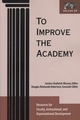 To Improve the Academy: Resources for Faculty, Instructional, and Organizational Development, Volume 23 (1882982762) cover image