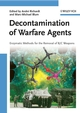 Decontamination of Warfare Agents: Enzymatic Methods for the Removal of B/C Weapons (3527317562) cover image