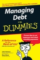 Managing Debt For Dummies (0470084863) cover image