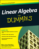 Linear Algebra For Dummies (0470538163) cover image