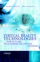 Virtual Reality Technologies for Future Telecommunications Systems (0470848863) cover image
