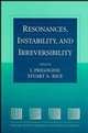 Resonances, Instability, and Irreversibility, Volume 99 (0471165263) cover image