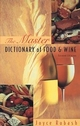 The Master Dictionary of Food and Wine, 2nd Edition (0471287563) cover image