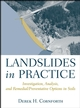 Landslides in Practice: Investigation, Analysis, and Remedial/Preventative Options in Soils (0471678163) cover image