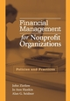 Financial Management for Nonprofit Organizations: Policies and Practices (0471741663) cover image