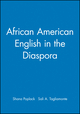 African American English in the Diaspora (0631212663) cover image