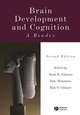Brain Development and Cognition: A Reader, 2nd Edition (0631217363) cover image