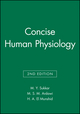 Concise Human Physiology, 2nd Edition (0632055863) cover image