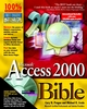 Microsoft Access 2000 Bible (0764532863) cover image