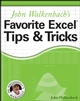 John Walkenbach's Favorite Excel Tips & Tricks (0764598163) cover image