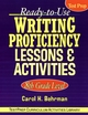 Ready-to-Use Writing Proficiency Lessons & Activities: 8th Grade Level (0787965863) cover image