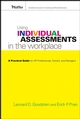 Using Individual Assessments in the Workplace: A Practical Guide for HR Professionals, Trainers, and Managers (0787982563) cover image