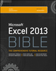 Excel 2013 Bible (1118490363) cover image