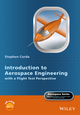 Introduction to Aerospace Engineering with a Flight Test Perspective (1118953363) cover image