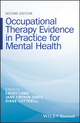 Occupational Therapy Evidence in Practice for Mental Health, 2nd Edition (1118990463) cover image
