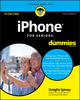 iPhone For Seniors For Dummies, 7th Edition (1119417163) cover image