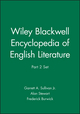 Wiley Blackwell Encyclopedia of English Literature, Part 2 Set (1119969263) cover image