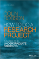 How to do a Research Project: A Guide for Undergraduate Students, 2nd Edition (EHEP003163) cover image