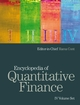 Encyclopedia of Quantitative Finance, 4 Volume Set (0470057564) cover image