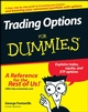 Trading Options For Dummies (0470241764) cover image