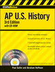 CliffsNotes AP U.S. History, 3rd Edition (0470402164) cover image
