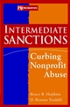 Intermediate Sanctions: Curbing Nonprofit Abuse (0471174564) cover image