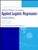 Applied Logistic Regression, Solutions Manual, 2nd Edition (0471208264) cover image