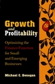 Growth and Profitability: Optimizing the Finance Function for Small and Emerging Businesses (0471212164) cover image