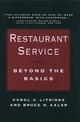 Restaurant Service: Beyond the Basics (0471514764) cover image