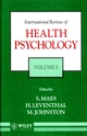 International Review of Health Psychology, Volume 3 (0471944564) cover image