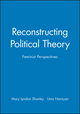 Reconstructing Political Theory: Feminist Perspectives (0745617964) cover image