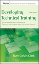 Developing Technical Training: A Structured Approach for Developing Classroom and Computer-based Instructional Materials, 3rd Edition (0787988464) cover image