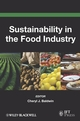 Sustainability in the Food Industry (0813808464) cover image