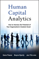 Human Capital Analytics: How to Harness the Potential of Your Organization's Greatest Asset (1118466764) cover image