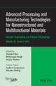 Advanced Processing and Manufacturing Technologies for Nanostructured and Multifunctional Materials, Volume 35, Issue 6 (1119040264) cover image