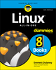 Linux All-In-One For Dummies, 6th Edition (1119490464) cover image
