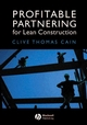 Profitable Partnering for Lean Construction (1405110864) cover image