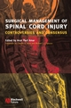 Surgical Management of Spinal Cord Injury: Controversies and Consensus (1405122064) cover image