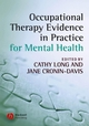 Occupational Therapy Evidence in Practice for Mental Health (1405146664) cover image