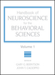 Handbook of Neuroscience for the Behavioral Sciences, Volume 1 (0470083565) cover image