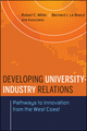 Developing University-Industry Relations: Pathways to Innovation from the West Coast (0470433965) cover image