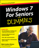Windows 7 For Seniors For Dummies (0470509465) cover image