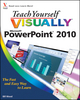 Teach Yourself VISUALLY PowerPoint 2010 (0470577665) cover image