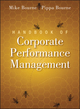Handbook of Corporate Performance Management (0470669365) cover image
