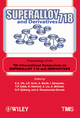 Superalloy 718 and Derivatives: Proceedings of the 7th International Symposium on Superalloy 718 and Derivatives (0470943165) cover image