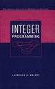 Integer Programming (0471283665) cover image
