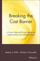 Breaking the Cost Barrier: A Proven Approach to Managing and Implementing Lean Manufacturing (0471381365) cover image