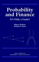 Probability and Finance: It's Only a Game! (0471402265) cover image