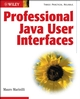 Professional Java User Interfaces (0471486965) cover image